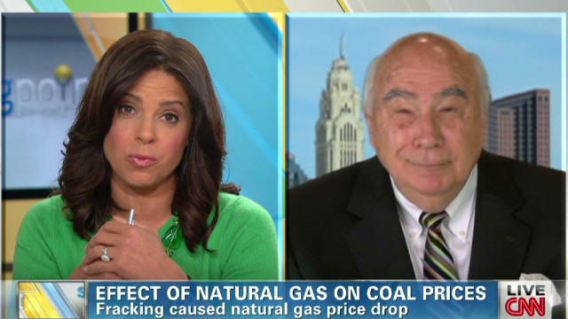 Coal plant CEO discusses natural gas
