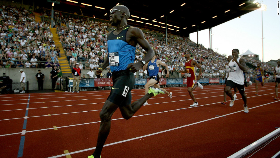 "A former ""Lost Boy"" from Sudan, he relocated as a teenager to the United States where he became a professional runner."