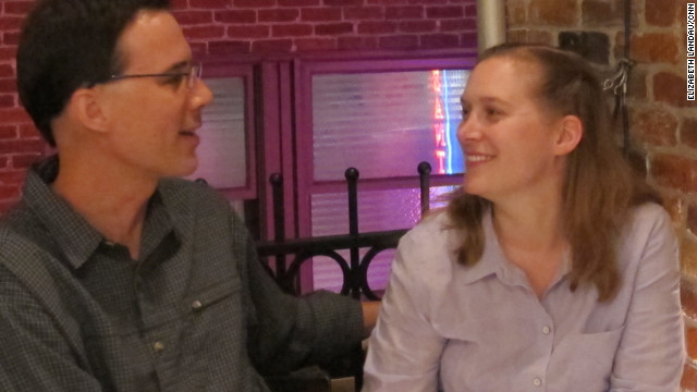 Scott Maxwell and Kim Lichtenberg have been dating for more than three years; both work on Mars rover missions.