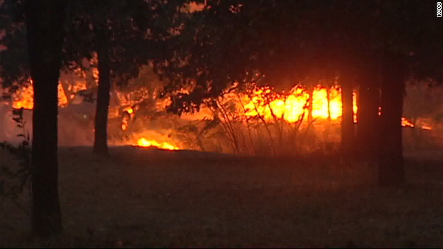 Multiple wildfires continue to burn across Oklahoma.