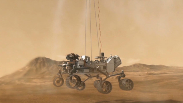 NASA's search for signs of life on Mars