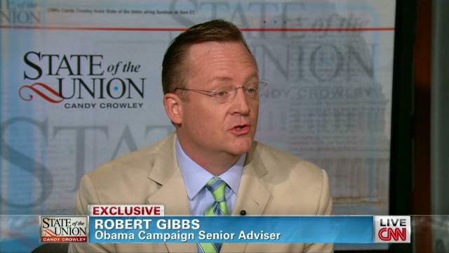 Gibbs: Romney must be open on taxes
