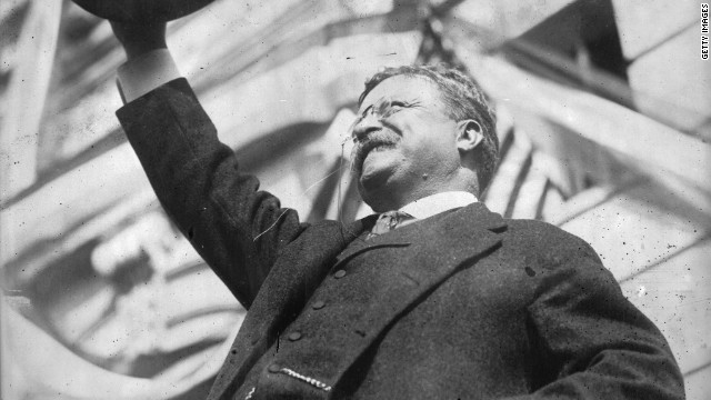 In 1912, Former President Theodore Roosevelt ran again for the White House as the Progressive Party candidate.