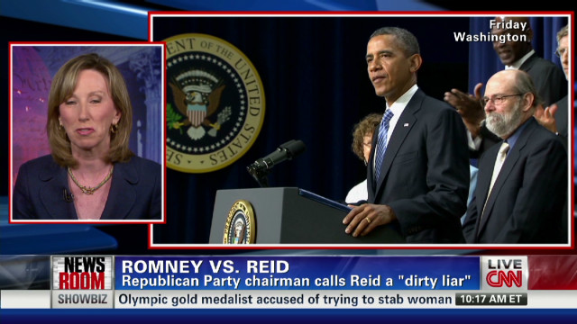 Mitt Romney vs. Harry Reid
