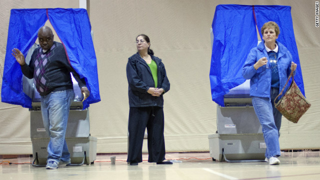 Voters in Bethel Township, Pennsylvania, cast ballots in the GOP primary in April.
