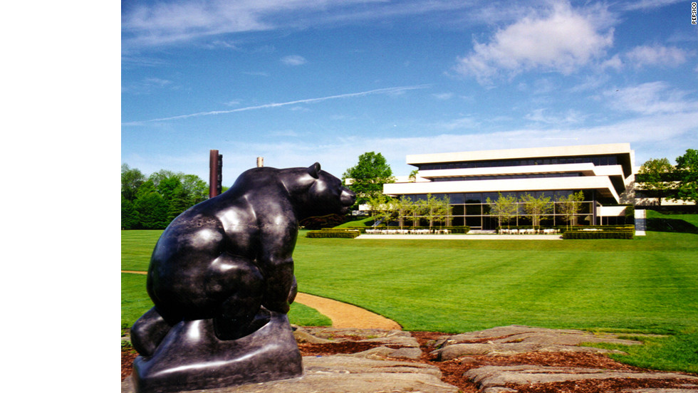 At PepsiCo's office in Purchase, NY, employees run an organic vegetable garden, fertilized with coffee grinds from the staff cafeteria. The headquarters also have a sculpture garden with works by Miró, Giacometti, Dubuffet and Rodin.