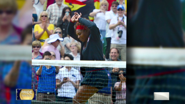 Williams: 'Gold is my favorite color'