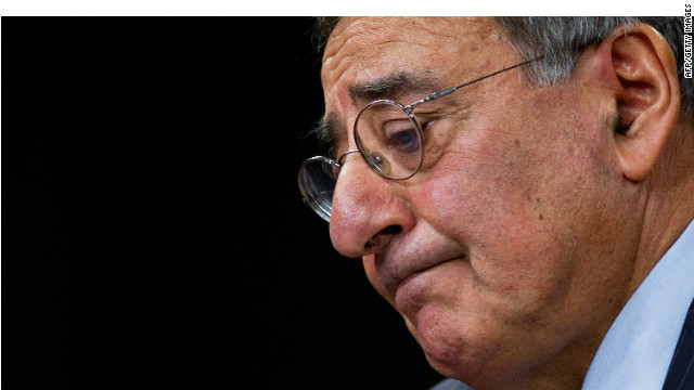 Defense Secretary Leon Panetta says that the sequestration defense budget cuts, if triggered, would threaten national security.