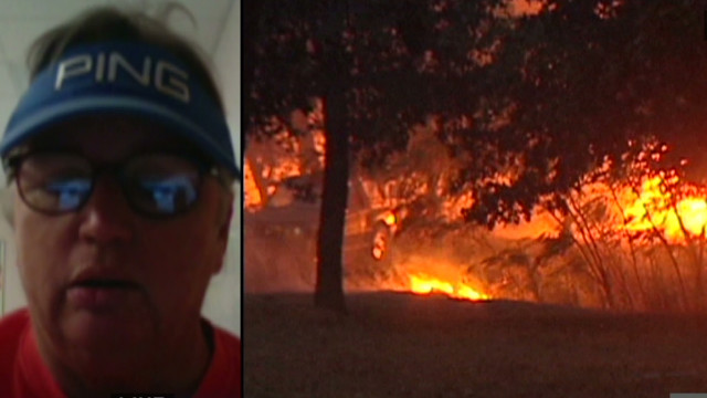 Tearful wildfire victim: 'Nothing left'