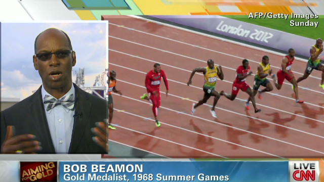 Beamon on Bolt's record breaking sprint