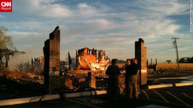 Suspicious fire destroys Joplin mosque