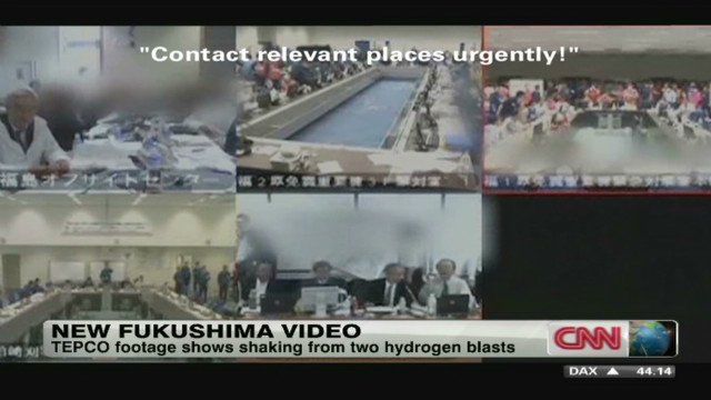 New video shows Japan nuclear disaster