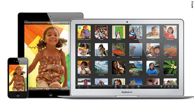 The iCloud service allows Apple customers to link all their devices.