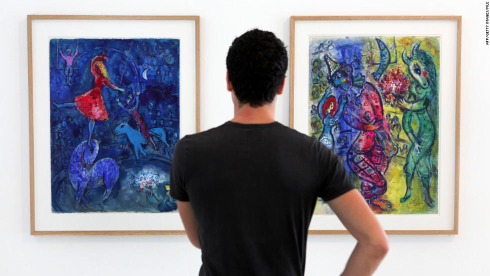 There's no shortage of fine art in the South of France, where many artists found inspiration. In Nice, there's a museum dedicated to Russian painter Marc Chagall.