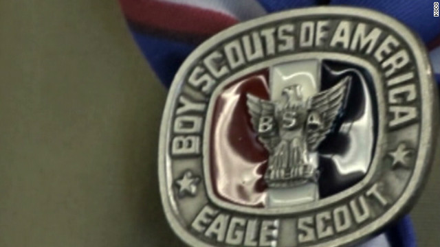 Eagle Scout returns medal in protest