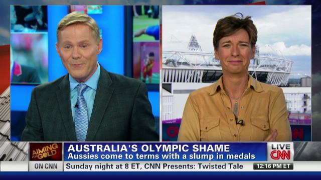 Australia's London Games shame