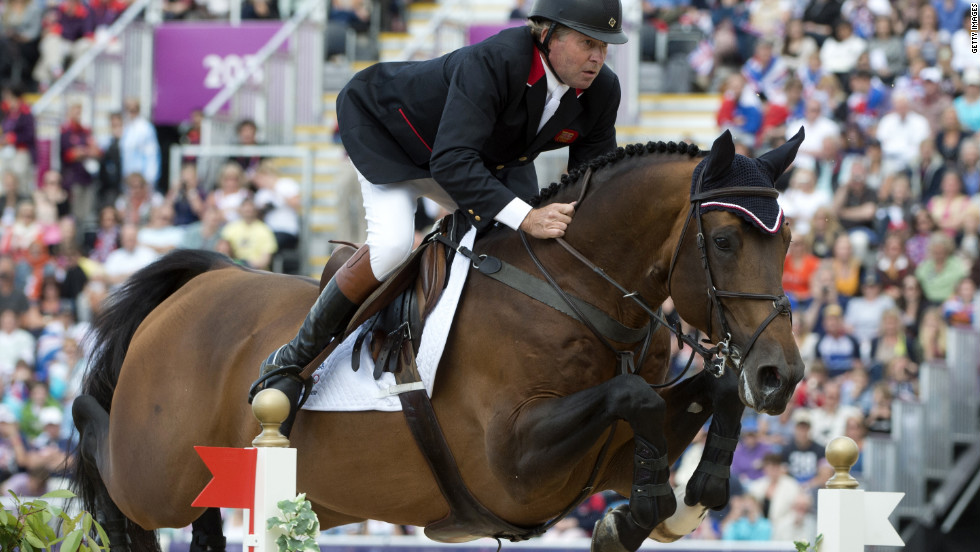 So far in the 2012 Summer Games, equestrian Nick Skelton is the United Kingdom's oldest gold medal winner. He is 54.