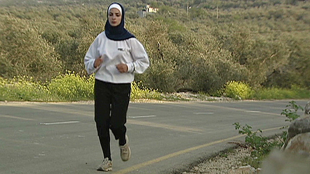 Gaza runner's Games dream comes true