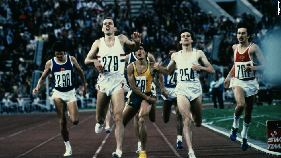One of the highlights of Moscow was the 800 meter final, which featured Great Britain's Steve Ovett and Sebastian Coe. But the fastest man in the world over that distance in 1980 was not in the race. American runner Don Paige was so distraught at missing out he has never watched the final.