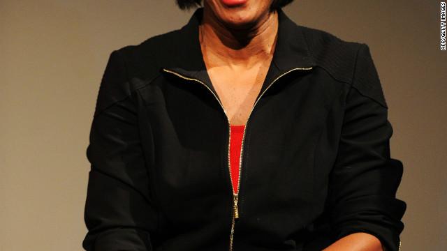Former Olympian Jackie Joyner-Kersee