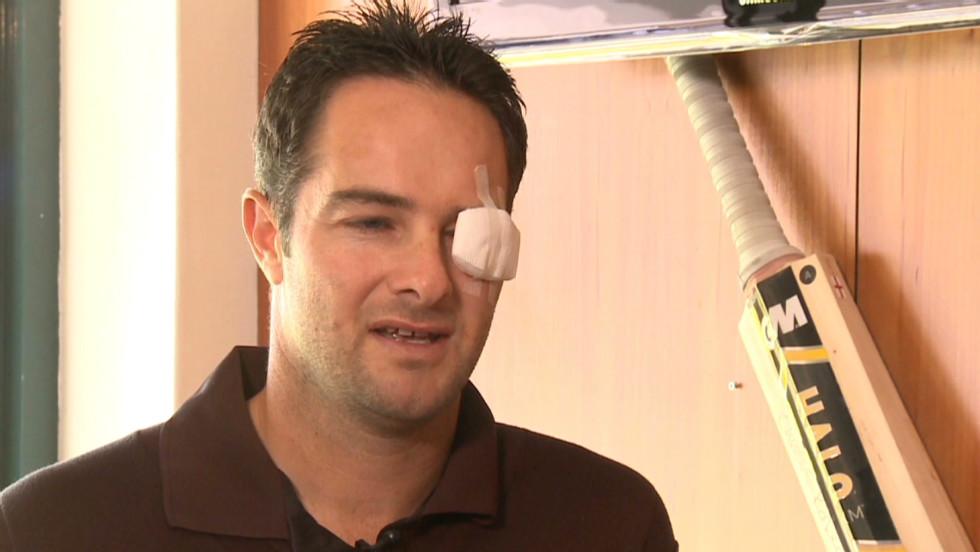 Mark Boucher on eye injury