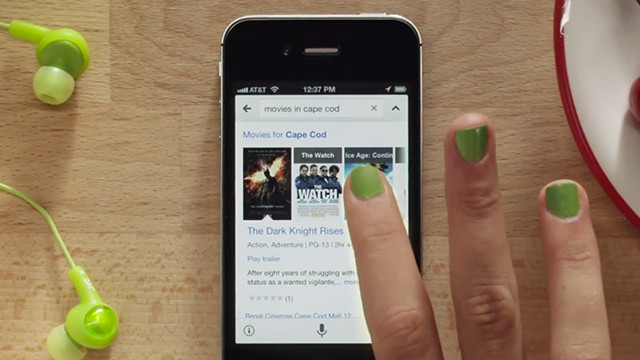Google's Siri-like voice search feature is coming to its iPhone and iPad app.