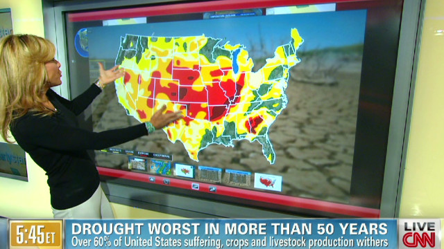 Drought continues to plague U.S.