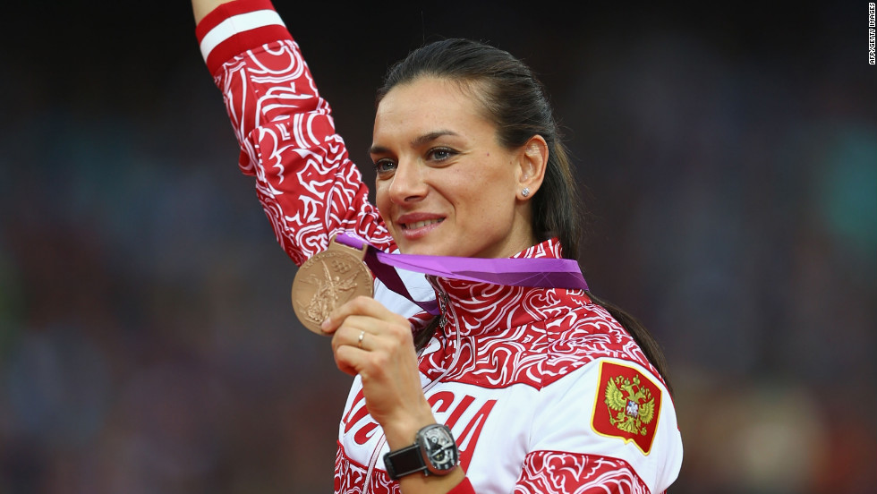 "For Russian athlete Elena Isinbaeva, her most memorable Olympic moment was a personal one. She reflects on her women's pole vault win: ""Of course I will remember my bronze medal from the London Olympic Games. It was hard to win this medal, it was really hard."""