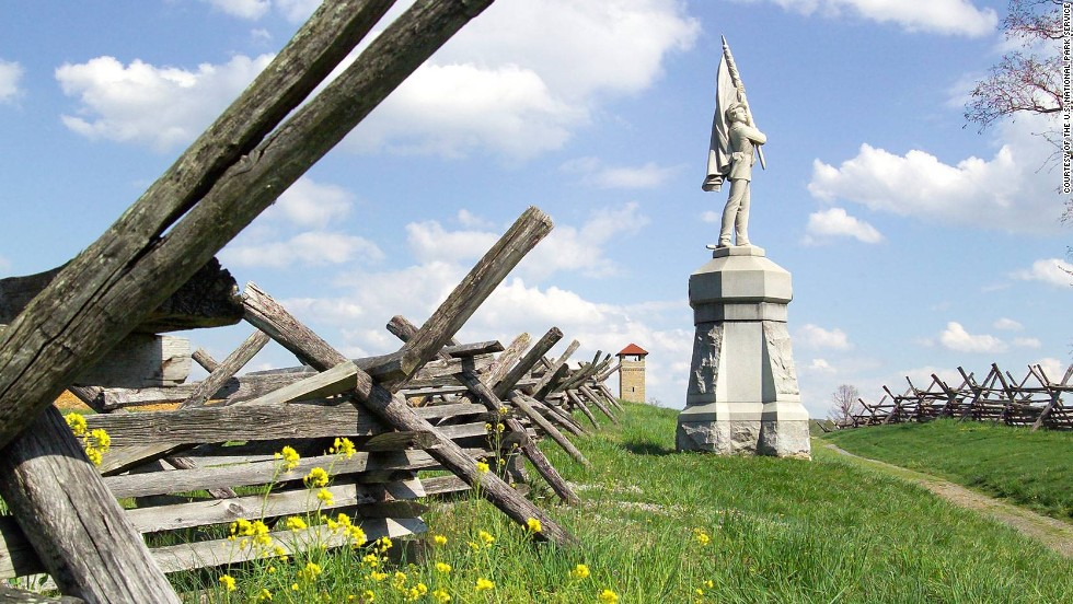In 12 hours, 23,000 soldiers were killed, wounded or missing at Antietam in 1862.