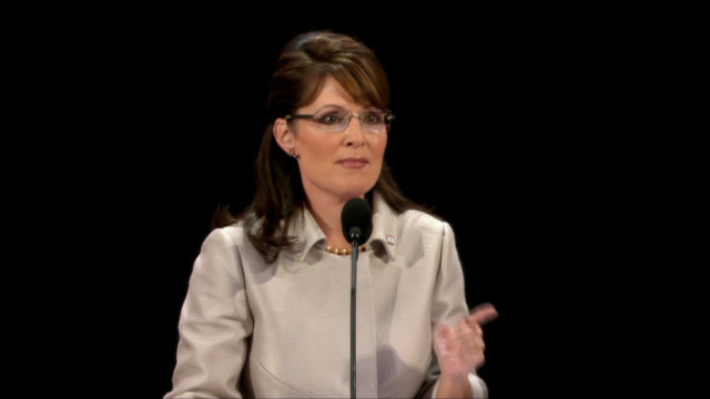 2008: Palin attacks Obama at RNC
