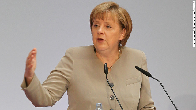Responding to criticism, Angela Merkel, the German chancellor, has called for a strict European agreement on data protection.