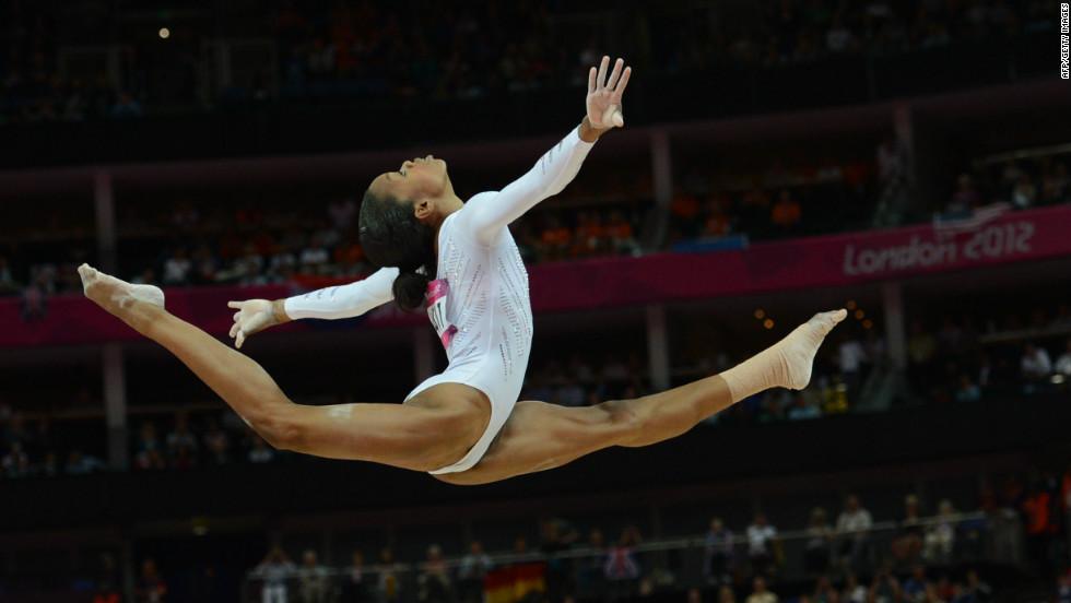 """Gabby Douglas, U.S. gymnast: """"My Bible."""""""
