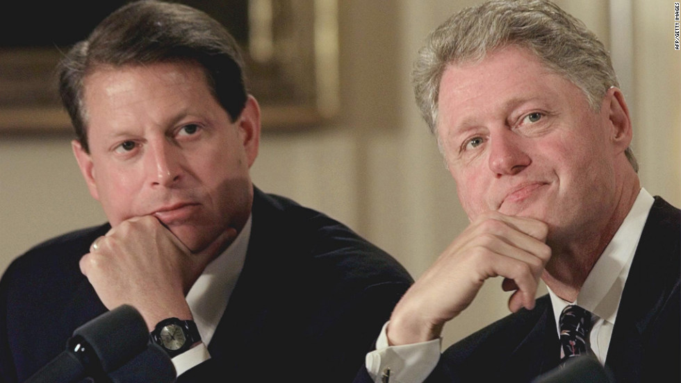 Another Washington insider, Al Gore, and his father both served as senators from Tennessee. Gore brought beltway know-how to a ticket featuring a little-known governor from Arkansas -- Bill Clinton. The bright and experienced Gore became Clinton's right-hand man and was critical to securing the election.