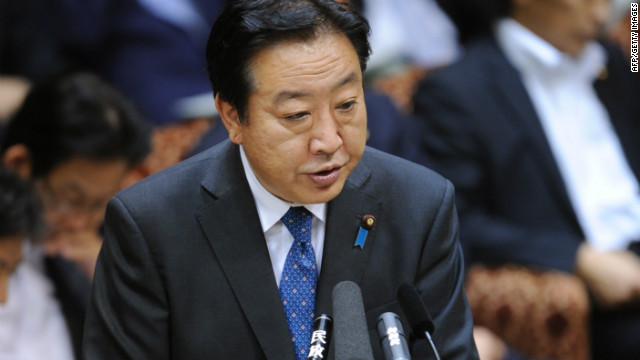 Japan's Prime Minister Yoshihiko Noda answers questions during an upper house special committee session at the parliament in Tokyo on August 10, 2012.