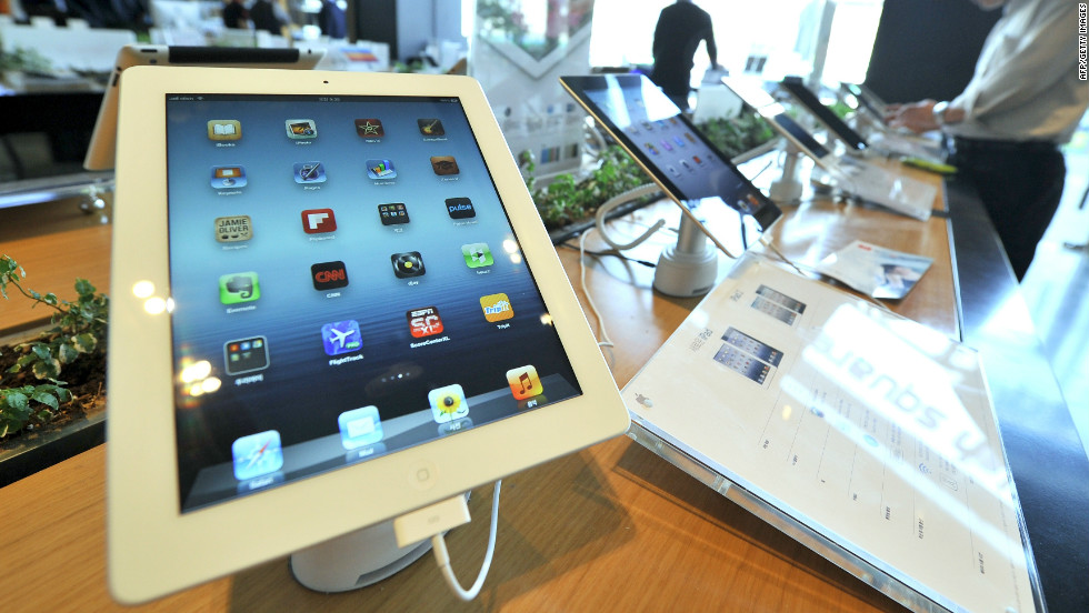 "There were tablets before the iPad, but Apple's tab introduced the concept to millions who had never heard of one. More than 84 million have been sold, dwarfing the competition. With its high-definition ""retina display"" screen, dual cameras and extensive app catalogue, it's the standard by which other tablets are measured. They start at $499 and run up to $829 for a 64GB version with 3G connectivity."