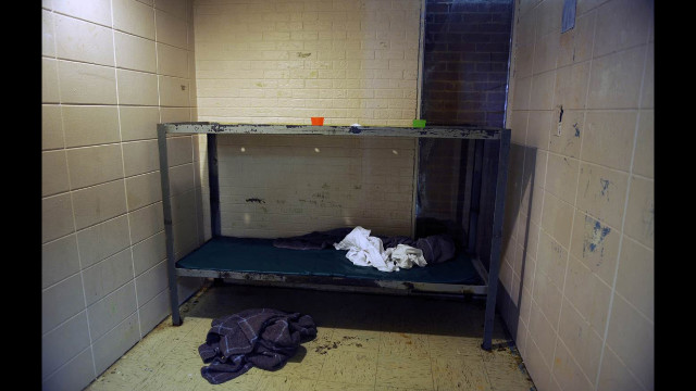 """The alleged mistreatment included youngsters being """"crammed into small, filthy cells and tormented with the arbitrary use of Mace as a punishment for even the most minor infractions."""