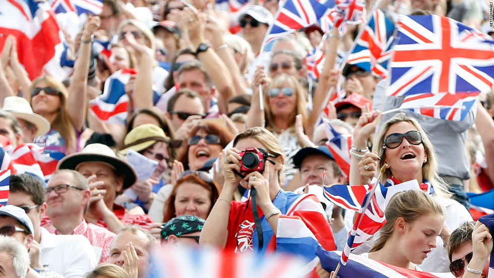 Huge support for Team GB has helped the home side shoot up the medal table.