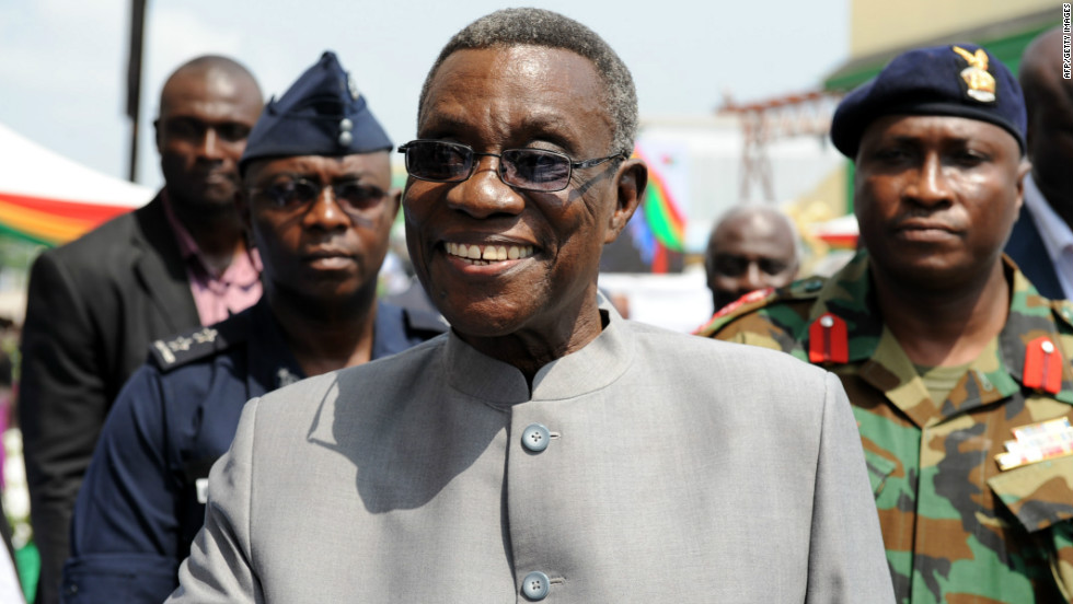 Before his political career, Mills taught at the University of Ghana and also was a visiting lecturer at Temple University in Pennsylvania and Leiden University in the Netherlands. He ran for president unsuccessfully in 2000 and 2004 before narrowly winning a runoff in 2009.