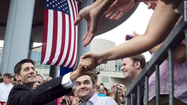 Romney hopes Ryan can swing some states his way