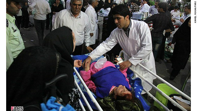 Iran searches for quake victims