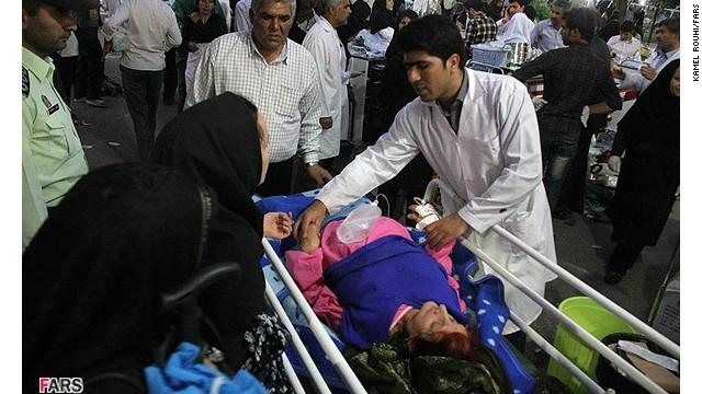 Iran searches for quake victims