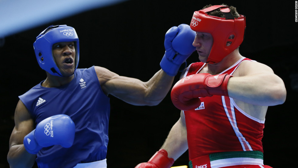 British boxer Anthony Joshua, won gold for his nation in the final of the super-heavyweight division by beating Italy's Roberto Cammarelle. It rounded out the best performance Britain had seen in boxing since 1920.