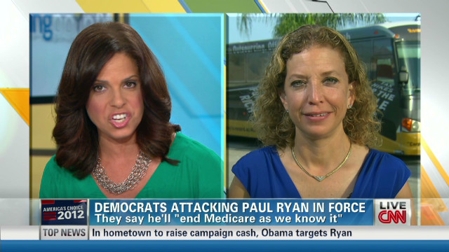 DNC Chair : Ryan VP pick spells disaster