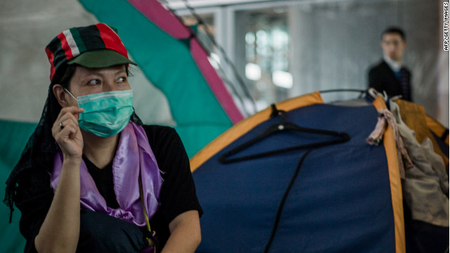 Occupy Hong Kong site ordered out