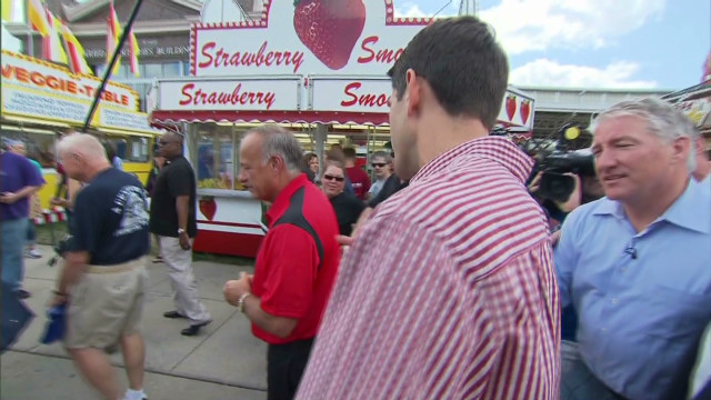 Paul Ryan heckled at Iowa State Fair