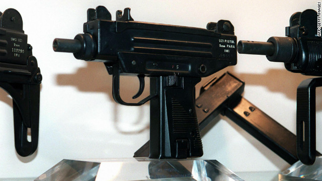 Senator Boonsong Kowawisarat was carrying a firearm similar to these pictured.