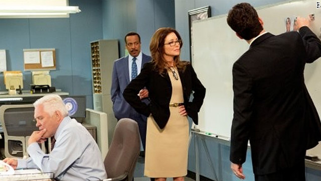 "Mary McDonnell stars in TNT's ""Major Crimes."""