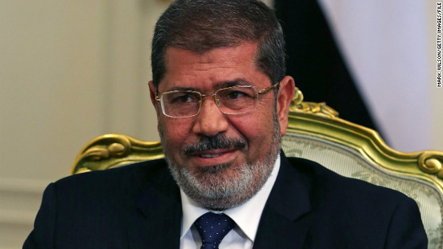 Egyptian President Mohamed Morsy, overrode the military by calling back parliament when he took office June 30.