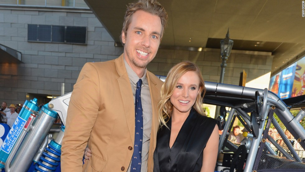 """When Bell's gay friends couldn't get married, she and her then-fiance, Dax Shepard, decided they wouldn't either. As Shepard put it, """"We're not going to have a party when half of our friends ... can't do that thing we're doing. We're not going to ask them to come celebrate a right they don't have. That's just tacky! Forget like anything else, it's like really tacky for us."""""""