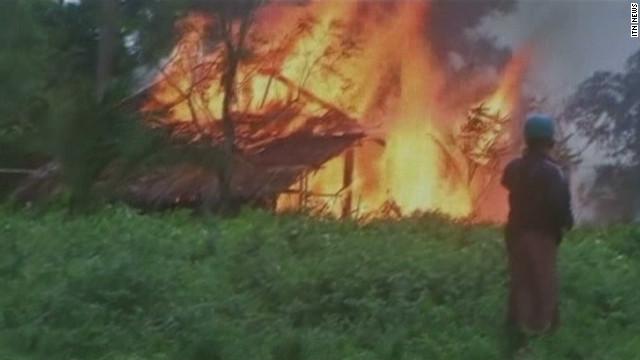 Religious clashes devastate Myanmar